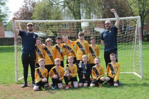 U9s Yellow Winners